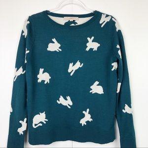Loft Crew Neck Bunny Sweater